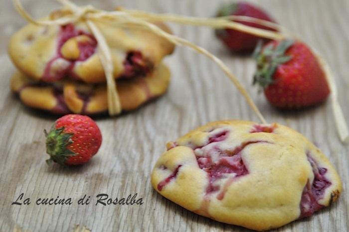 biscotti alle fragole