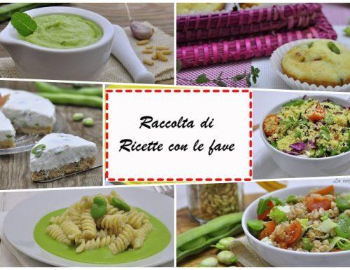 Raccolta di ricette con le fave
