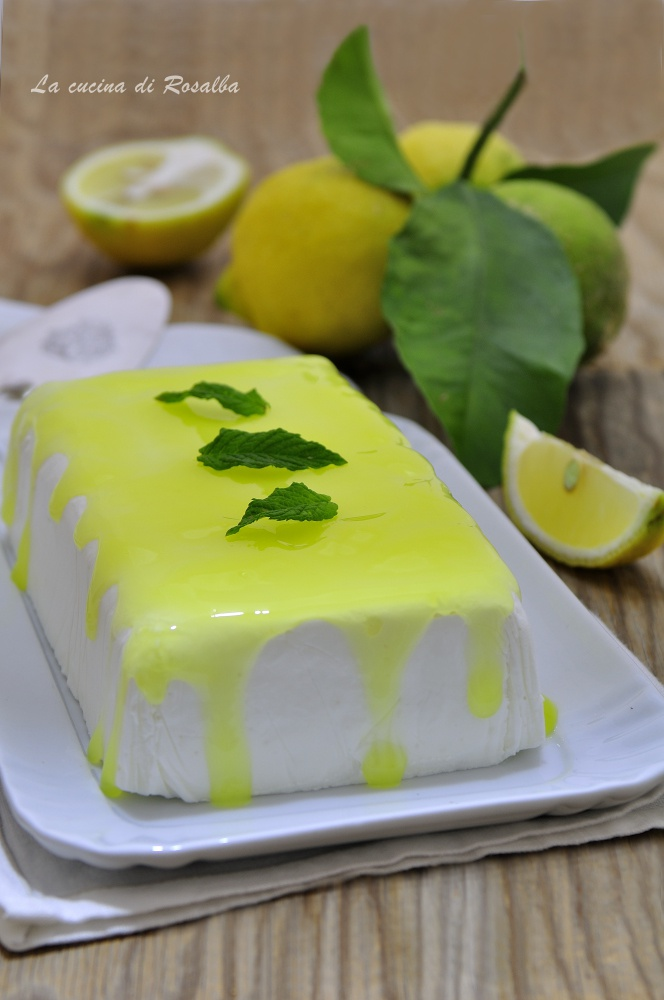 semifreddo al limone - ricetta dolce