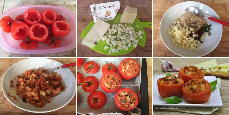 procedimento pomodori ripieni alla siciliana