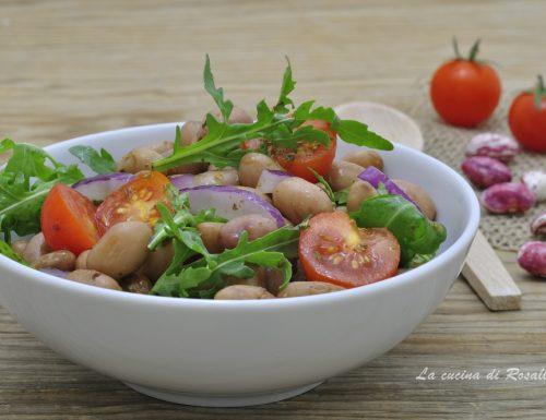 Insalata di fagioli freschi, ricetta estiva