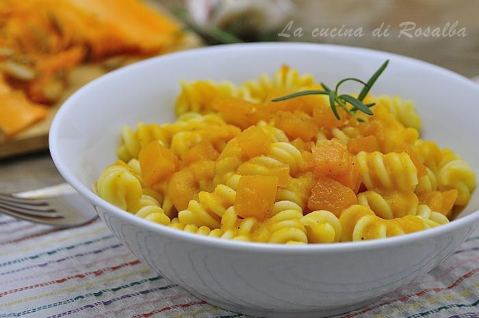 pasta con la zucca - raccolta di ricette con la zucca
