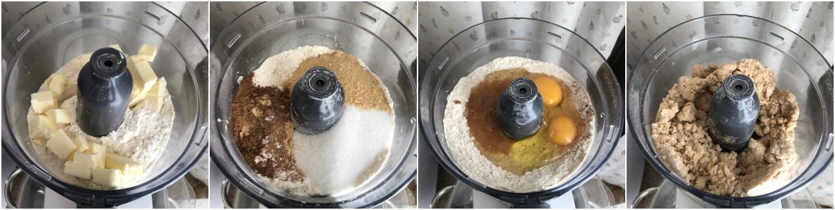 procedimento biscotti pan di zenzero, gingerbread man