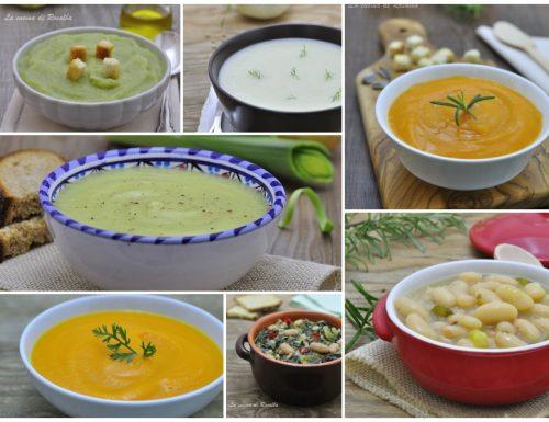 Raccolta di ricette di zuppe e creme