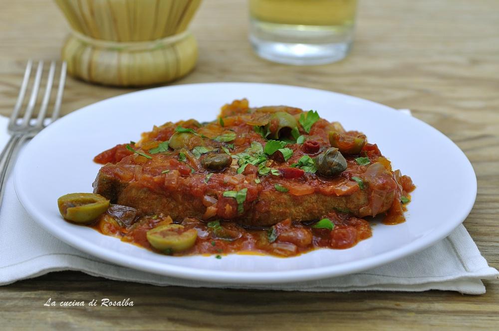 TONNO ALLA SICILIANA ricetta