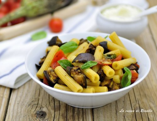 PASTA CON LE MELANZANE LIGHT
