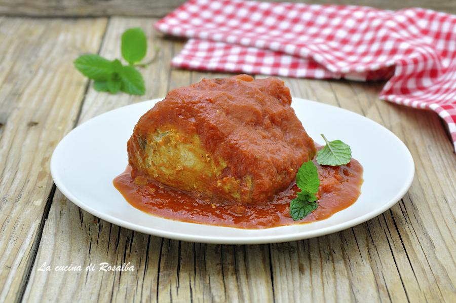 TUNNINA AMMUTTUNATA ricetta palermitana
