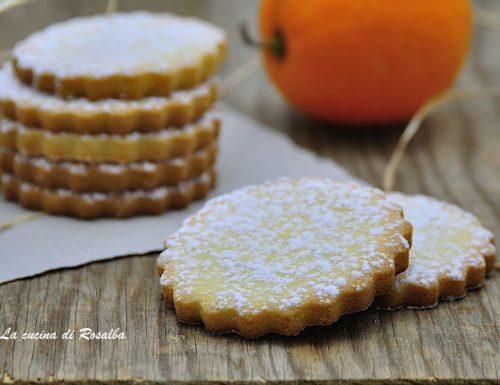 Biscotti di riso all'arancia
