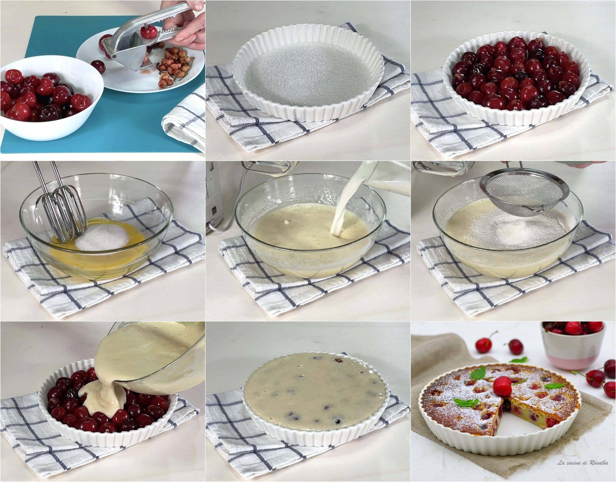 come fare cafloutis alle ciliegie, ricetta e foto