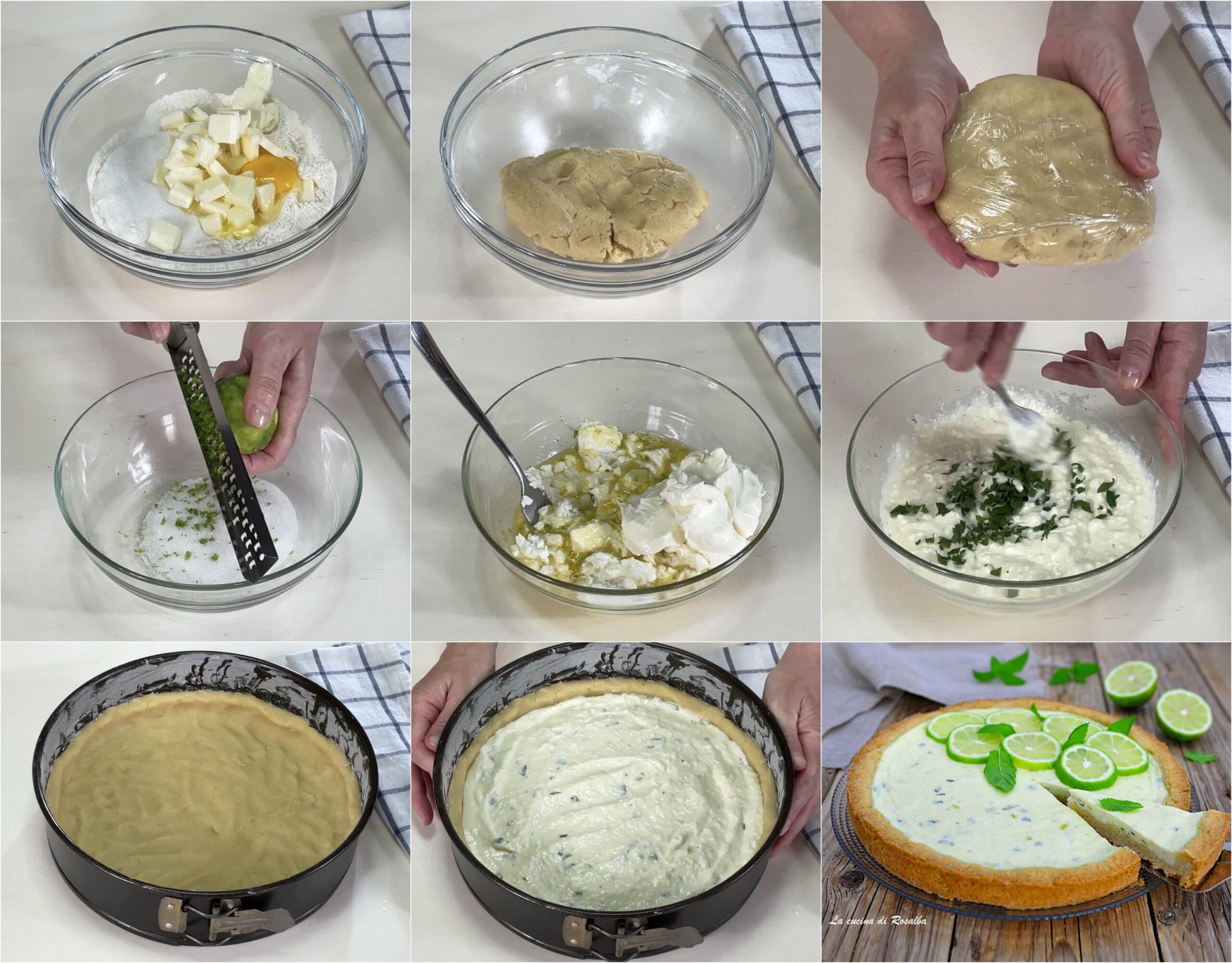 come fare torta mojito, ricetta e foto
