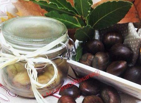 Castagne lesse in vasocottura