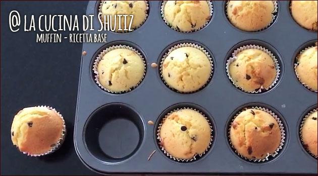 Muffin veloci (ricetta base senza latticini)