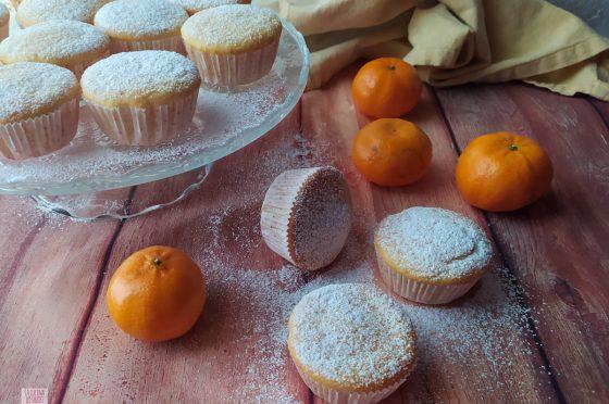 Muffin leggeri ai mandarini