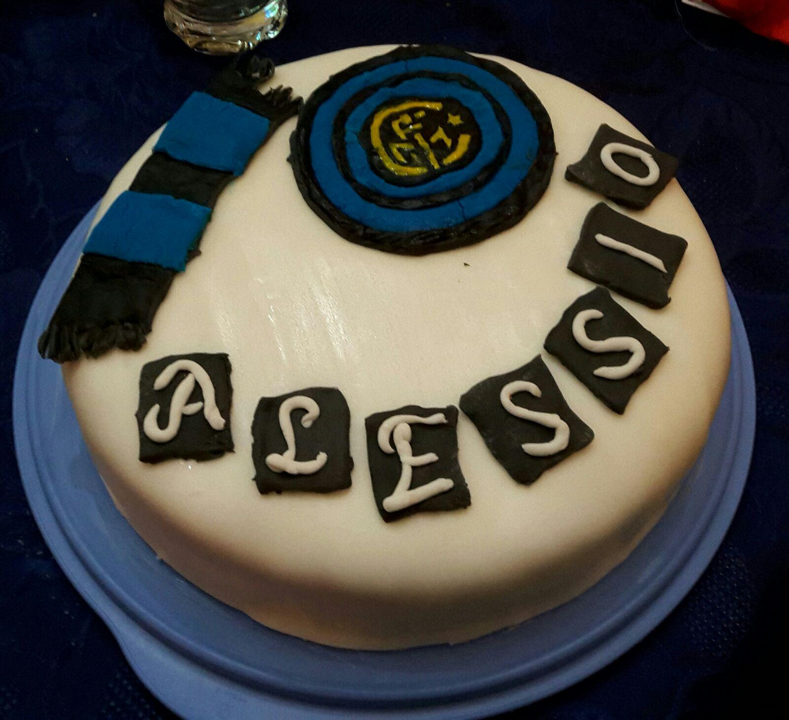 Torta compleanno Inter