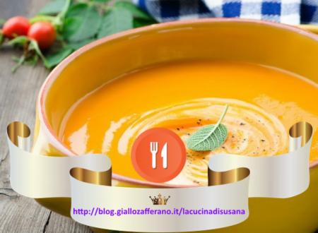 Come creare un perfetto menù di Halloween: Crema di Zucca uno squisito primo piatto.