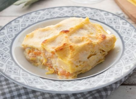 Una ricetta al giorno per Natale e Capodanno: Lasagne alla zucca con ricotta e besciamella.