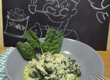 Risotto agli spinaci con Moulinex Cuisine Companion