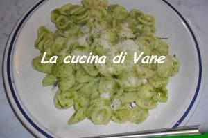 Orecchiette in salsa verde