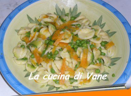 Pasta fredda di orecchiette e verdurine
