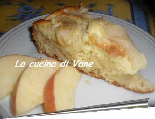 Delizia alle mele con crema al mascarpone