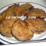Melanzane croccanti con prosciutto e mozzarella