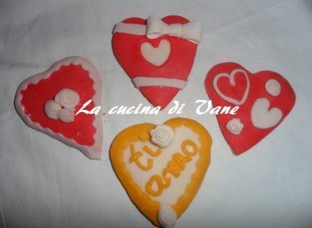 Biscotti decorati per San Valentino