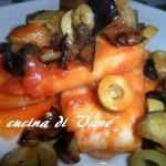 Filetti di merluzzo all'ortolana