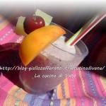 Frappè di frutta ricetta estiva