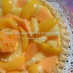 Crostata di frutta e crema