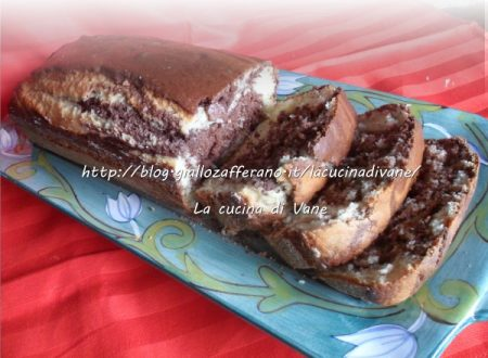 Plum cake ricotta e cacao morbido e leggero