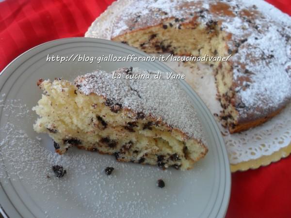 torta stracciatella con yogurt greco