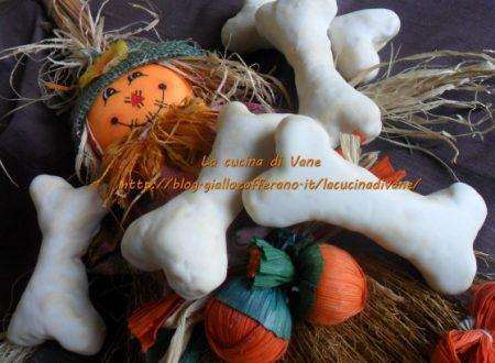 Biscotti per Halloween ossa di morto