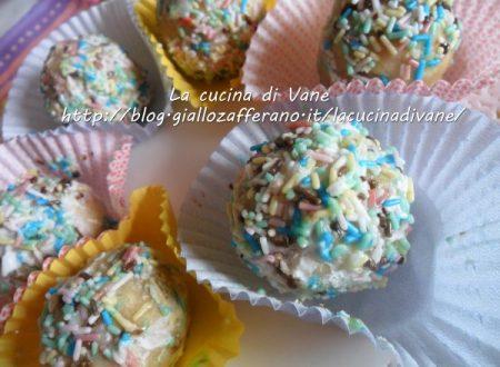Tartufi al cioccolato bianco   ricetta dolce