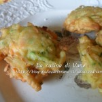 Frittelle di salmone ricotta e zucchine