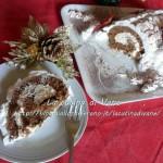 Tronchetto di Natale al doppio cioccolato