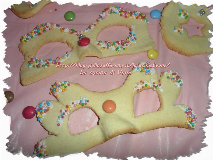 Mascherine dolci di carnevale ricette di carnevale for Ricette dolci di carnevale