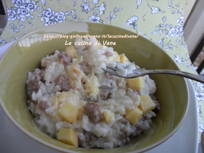Ricette risotto con salsiccia bimby