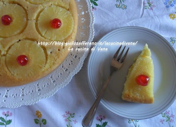 ricetta torta all'ananas