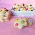 Biscotti alla panna con gli smarties