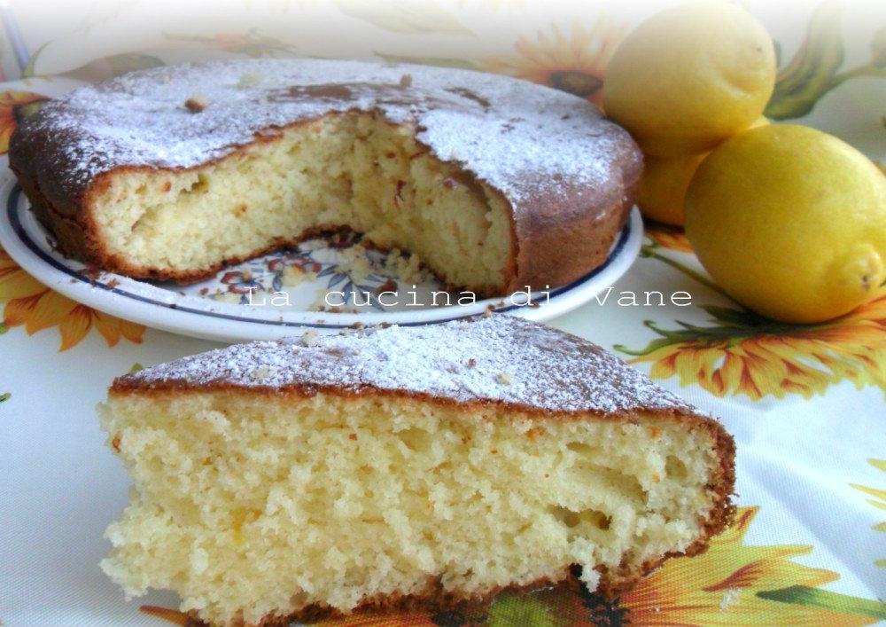 torta soffice al limone e mascarpone