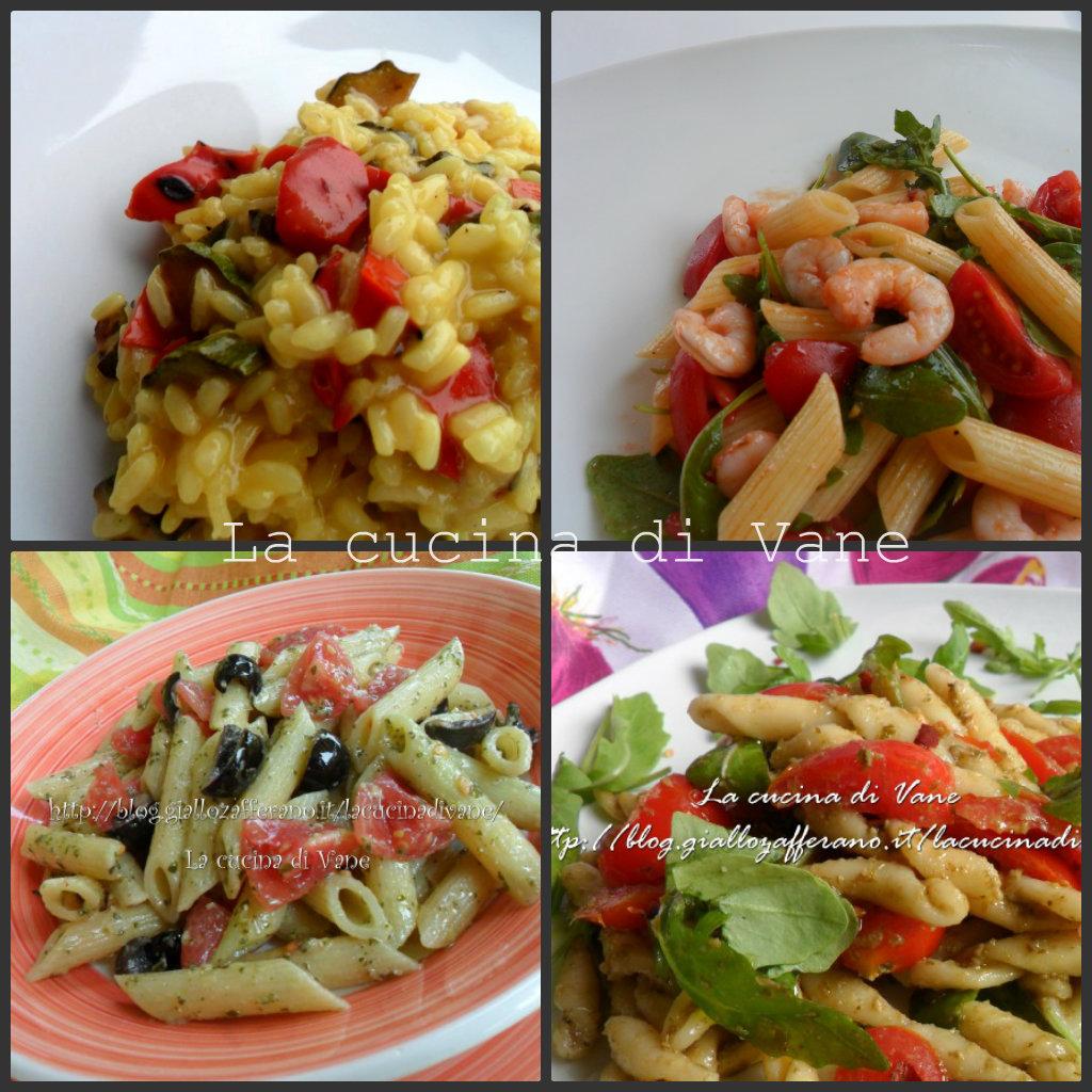 Primi estivi ricette for Primi piatti particolari