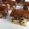 Quadrotti soffici cacao e ricotta