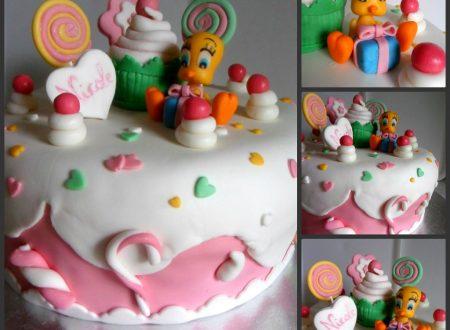 Torta Titti candy | Torta candy con Titti