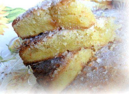 Torta caprese al limone con cioccolato bianco mandorle e nocciole