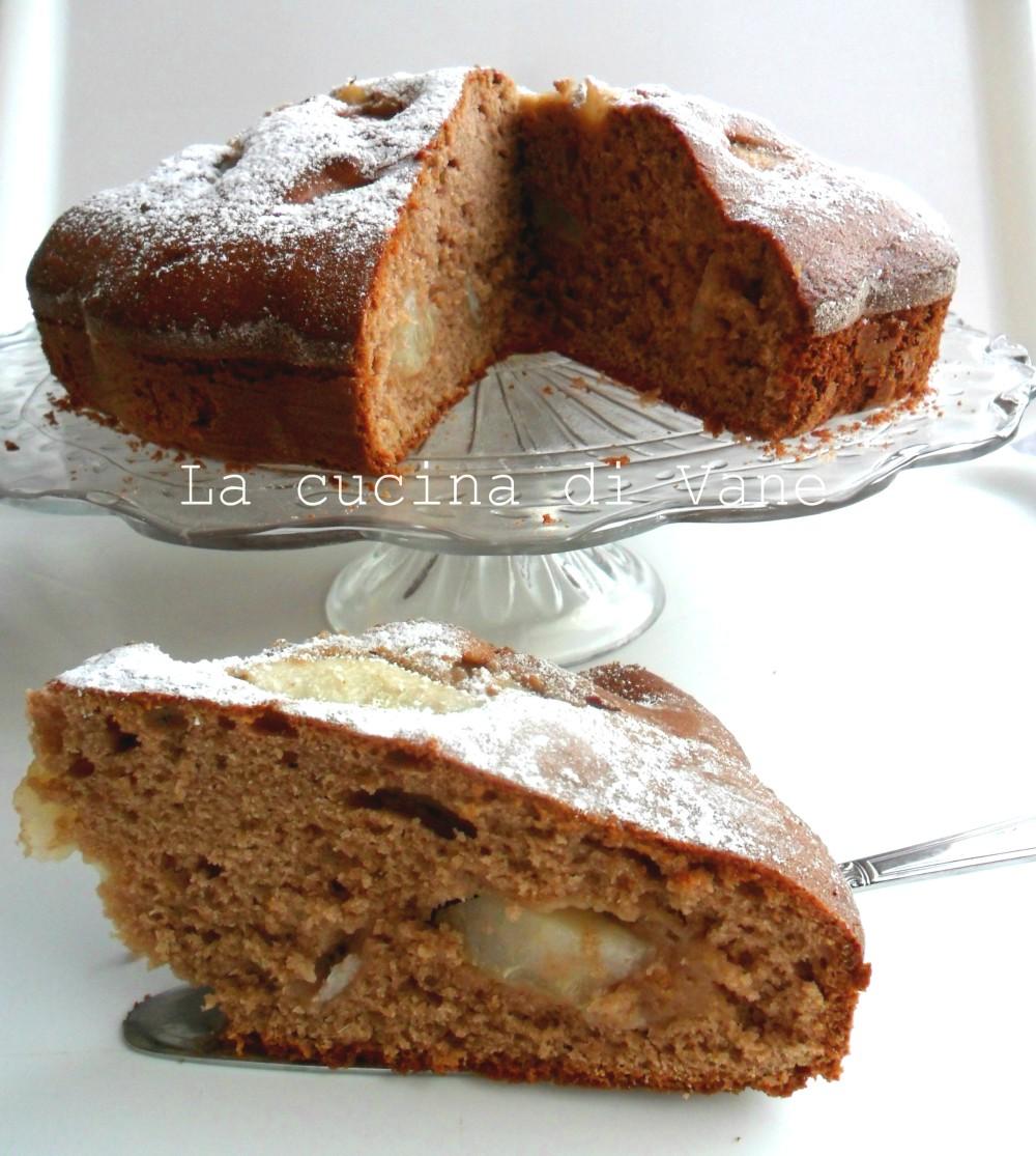 torta pere e nutella ricetta golosa