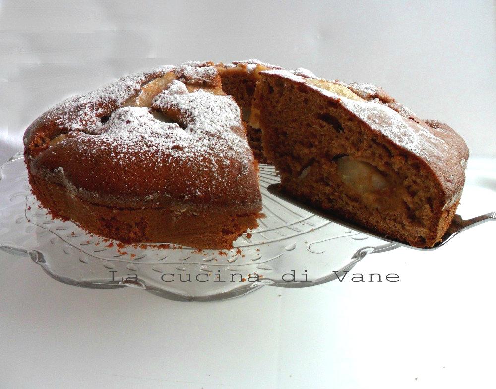 torta pere e nutella