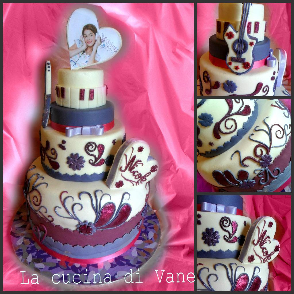 torta di violetta
