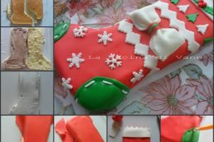 Torta calza della befana con tutorial foto passo passo