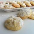 Biscotti al limone con cuore morbido
