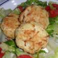 Polpette di pollo in crosta di patate